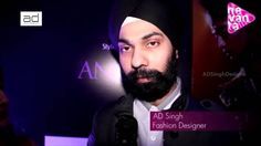 AD Singh Interview at the Bengal International fashion week by kingfisher Ultra. India's Iconic designer AD Singh showcases a range of red carpet gowns inspired by beautiful women - gods most beautiful creation. The collection consisted of bridal, cocktail gowns and red carpet gowns. It also included splashes of sherwani style dresses for women and multi-ghera anarkalis