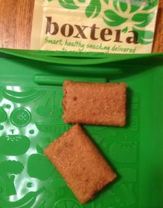 @Boxtera Snacks bars - part of the April Subscription box - two will win