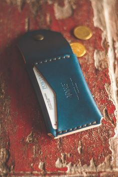 Coin Wallet Indigo – Noise Goods