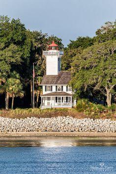 Haig Point Lighthouse, Daufuskie Island, South Carolina