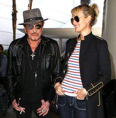 Johnny Hallyday et Laeticia sont mariés depuis 1996