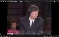Steve Jobs featured on Japanese TV show (1990)