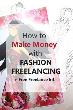 Career in Fashion Design: How to start freelance and make money (+free freelance kit) How to draw fashion sketches, Fashion illustration sketches, fashion illustration techniques, fashion illustration tutorial, fashion design sketches, fashion design for beginners, sewing for beginners, apparel design, fashion pattern making.