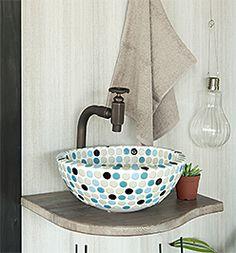 洗面ボウルオリジン正方形のイメージ Washbasin Design, Terrazzo, Sink, Bathroom, Home Decor, Home, Sink Tops, Washroom, Vessel Sink
