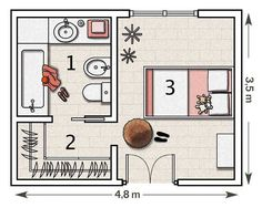 Master Walk In Closet Layout Design Bedrooms 38 Ideas Master Bedroom Plans, Master Bedroom Layout, Bedroom Floor Plans, Master Room, Bedroom Layouts, Bathroom Layout, Master Bathroom, Master Closet, Bathroom Ideas