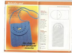Crochet and arts: bag