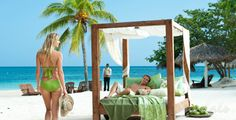 With nonstop flights available from Denver, Jamaica's Montego Bay makes the perfect romance destination! When your ready to celebrate love give us a call 877-332-7178 or contact us through our website ~ www.travelnrelax.com ~ to arrange your romance vacation!