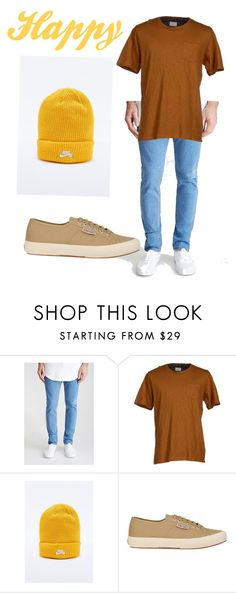 """""""Snow White and the Seven Dwarves- Happy"""" by anna-oliphant-dun on Polyvore featuring Forever 21, SELECTED, NIKE, Superga, mens, men, men's wear, mens wear, male and mens clothing"""