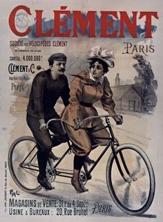 Cycles Clément ~ Anonym | #Bicycles #Clément  #Cycles