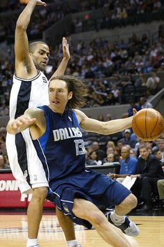 Steve Nash Dallas Mavericks Tony Parker San Antonio Spurs