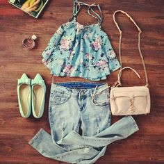 Lovely spring look ♥