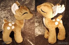 Custom Minky Kawaii Deer  Doe or Buck  Plushies  Decoration