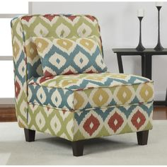 Mattie Tufted Slipper Calypso Chair | Overstock.com Shopping - Great Deals on Living Room Chairs