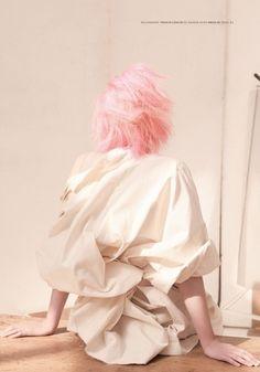 pink & white girl