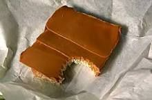 Brun Ost cheese from goat´s milk. typical Norwegian lunchbox sandwich, i was told during my visit there. it has a fudgy caramel taste Trondheim Norway, Norwegian Food, Piece Of Bread, Hot Topic, Countries, Scandinavian, Caramel, Lunch, Cheese