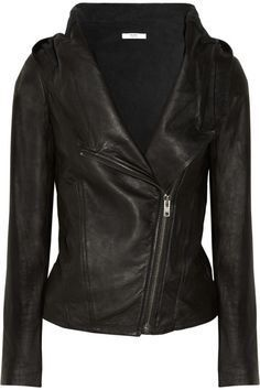 Fall Fashion Shopping List: Helmut Lang Leather Jacket.  VanessaLarson.com