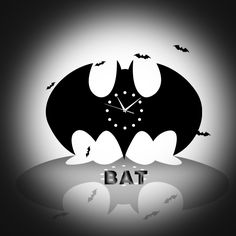Find More Wall Clocks Information about funlife Creative Living Room Batman Black Wall Clock European Style Acrylic Wall Clock Bat Home Decoration Clock 35*21cm wc1435,High Quality Wall Clocks from Funlife Home Decorations Co.,Ltd on Aliexpress.com