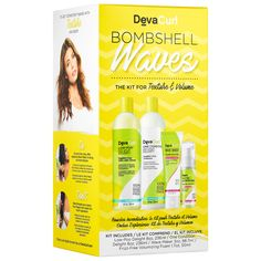 Shop DevaCurl Bombshell Waves at Sephora. This four-piece kit has everything your waves need for consistent texture and frizz-free volume.