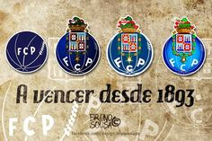 Futebol Clube do Porto - 121 Anos Fc Porto Logo, Portugal, Portuguese Quotes, Football Mexicano, Best Club, Image Fun, Football Soccer, Sports Logos, Postcards