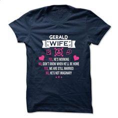GERALD - My Wife - #wifey shirt #sweatshirts. BUY NOW => https://www.sunfrog.com/Valentines/-GERALD--My-Wife.html?68278