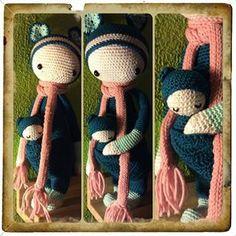 KIRA the kangaroo made by De Gretige Haakster / crochet pattern by lalylala