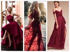 Роскошь в цвете марсала: 6 шикарных идей для осеннего образа Prom Dresses, Formal Dresses, Backless, Lady, Fashion, Moda, Formal Gowns, La Mode, Black Tie Dresses