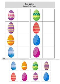 Les paires : Les oeufs de Pâques
