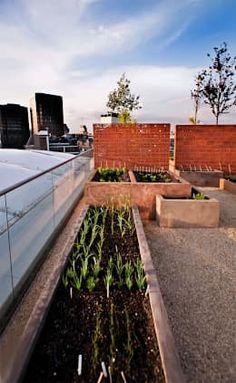 Garten auf Balkon und Dachterrasse von Urban Roof Gardens.