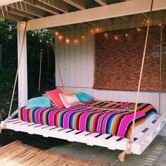 HOT PINK Mexican Serape Beach Sarape Blanket X-large