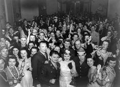 WWII USO dance. My parents met at one of these.