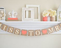 Rustic Bridal Shower Miss To Mrs Banner Bridal by ABannerAffair