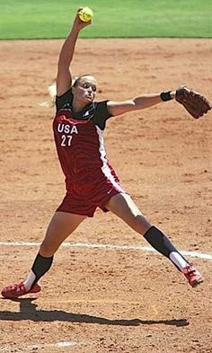Jennie Finch is my role model! I want to be just like her when I grow up. I hope they put softball back in the Olympics cause when I'm old enough i want to do that.