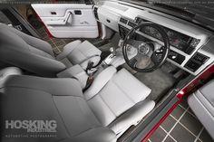Matthew La Spada's Holden VL Commodore   por HoskingIndustries White Umbrella, Custom Cars, Car Seats, Heaven, Classic, Interior, Motors, Bespoke Cars, Sky