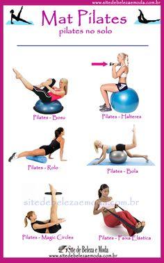 Conheça os tipos de pilates - Site de Beleza e Moda