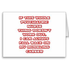 """Great shirts and gifts for your favorite psychiatric nurse. Or if you're a proud psych nurse looking to share your passion for psychiatry with the world, we've got plenty of unique psychiatric nurse shirts and apparel. Check out the full selection of funny psychiatric nurse shirts and awesome psychiatric nurse apparel at <a href=""""http://www.zazzle.com/psychiatric_nurse"""">Psychiatric Nurse Shirts and Gifts!</a>"""