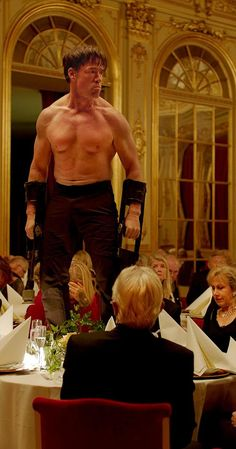 The Square - Directed by Ruben Östlund.  With Claes Bang, Elisabeth Moss, Dominic West, Terry Notary. People gather to city square, where there are no rules and you can do whatever you want.