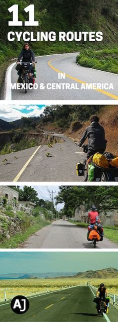 11 Great Routes to Explore On A Bicycle in Mexico & Central America