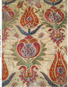 Ottoman tulip pattern suzani
