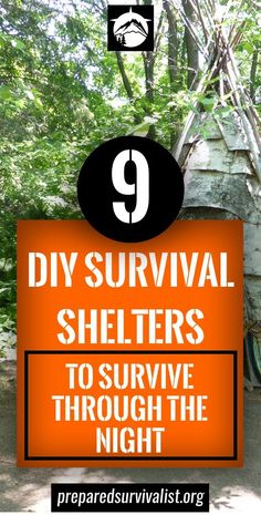 9 DIY Survival Shelter To Survive Through The Night