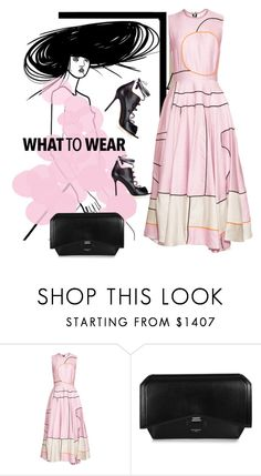 """""""meet me in pink"""" by fl4u ❤ liked on Polyvore featuring Roksanda, Givenchy and Malone Souliers"""