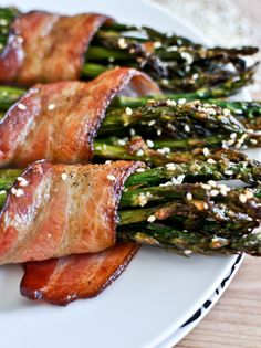 bacon wrapped : delightful veggies