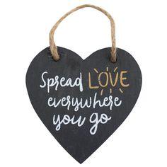Wholesale Spread love slate heart