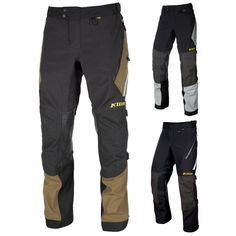 Klim Badlands Mens Tall Street Riding Protection Chopper Cycle Motorcycle Pants