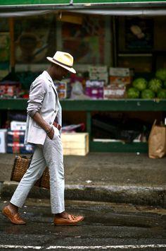 Men's street style.  DapperLou.  #WGTA #spsf