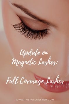 Update on Magnetic Lashes: Full Coverage Lashes! - The Full Nester Make Money Online, How To Make Money, Magnetic Lashes, Long Lashes, Blogging, Magnets, Health And Beauty, Female, Board