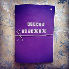 Handmade Notebook Prince Is Singing