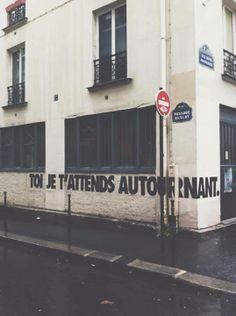 Around the Corner - Paris - street art Urban Street Art, Urban Art, Land Art, Quotes About Photography, Art Photography, Art Deco, Street Art Graffiti, Banksy, Illustrations