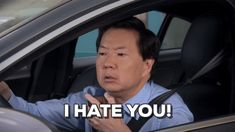 New trendy GIF/ Giphy. hate i hate you ken jeong dr ken. Let like/ repin/ follow @cutephonecases