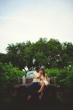 Our engagement session is on Style Me Pretty today! Orange Grove Engagement from Jason Mize Photography  Read more - http://www.stylemepretty.com/florida-weddings/2013/09/09/orange-grove-engagement-from-jason-mize-photography/