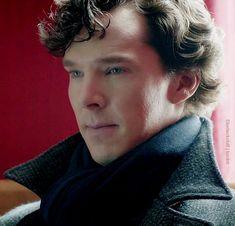 Benedict Cumberbatch as Sherlock Holmes Sherlock Holmes Bbc, Benedict Sherlock, Sherlock Fandom, Benedict Cumberbatch Sherlock, Sherlock John, Sherlock Season, Moriarty, Martin Freeman, Mrs Hudson